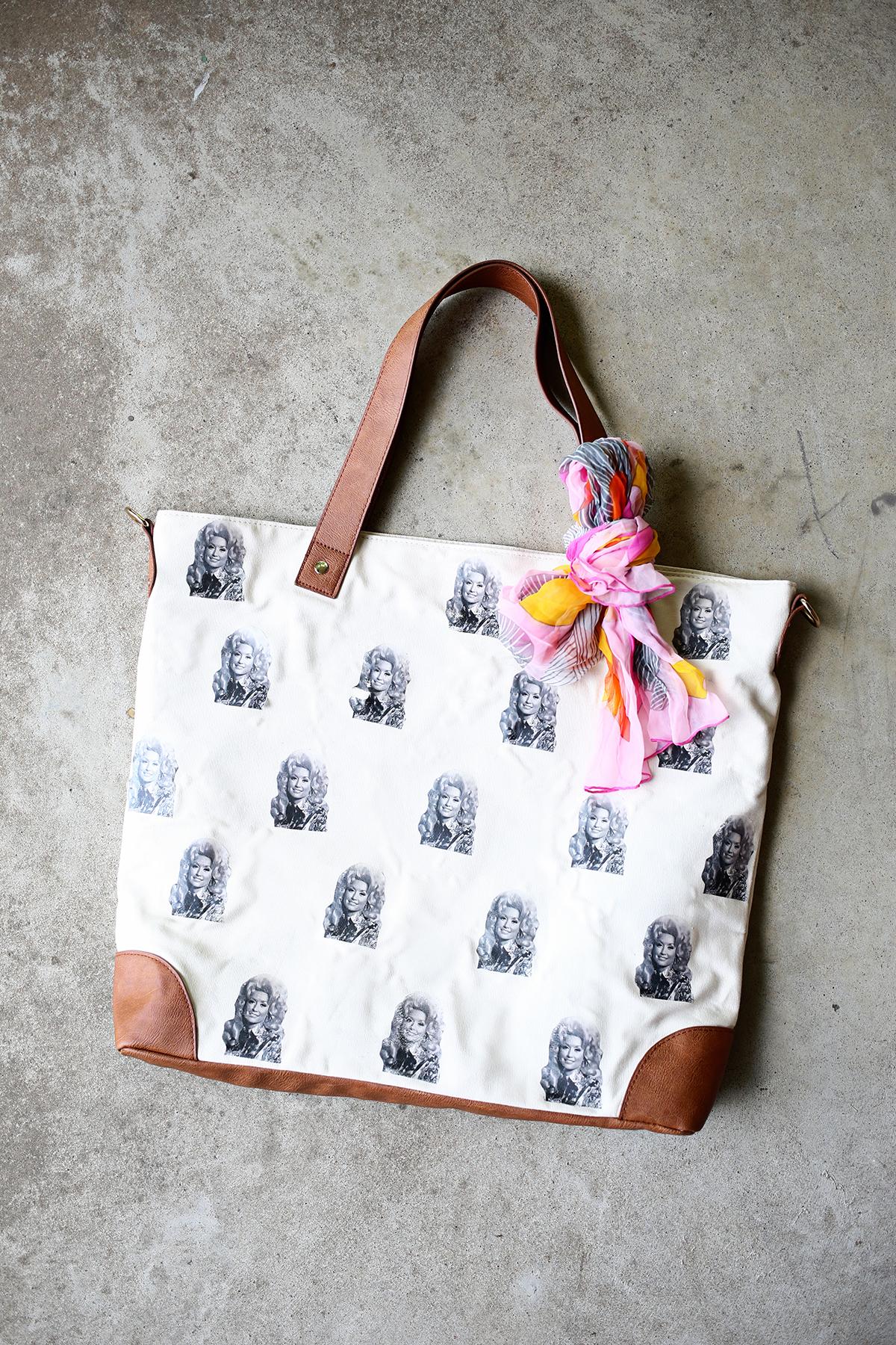 DIY Dolly Parton Bag