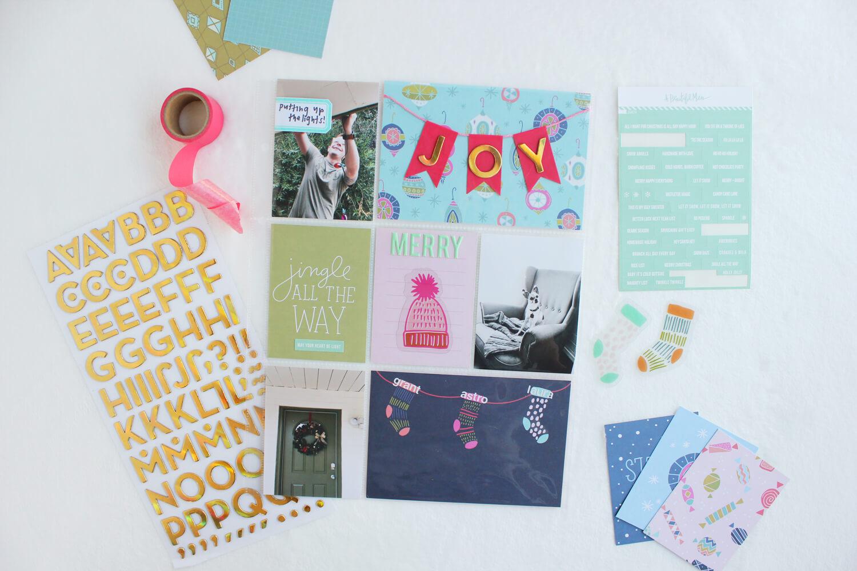 Scrapbook Sunday December Messy Box (abeautifulmess.com)