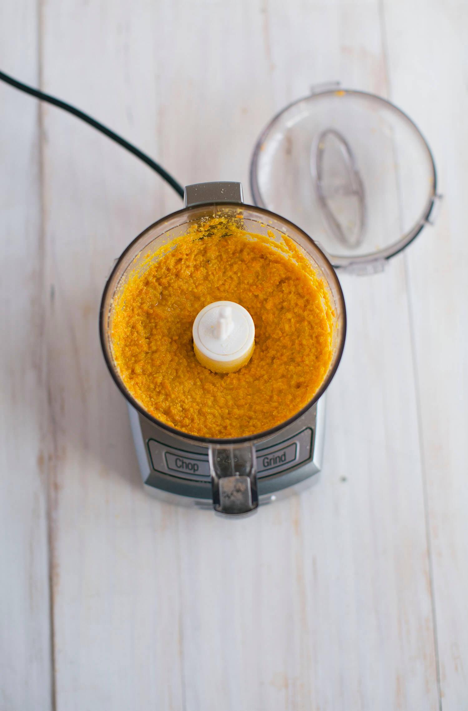 Carrot pesto recipe