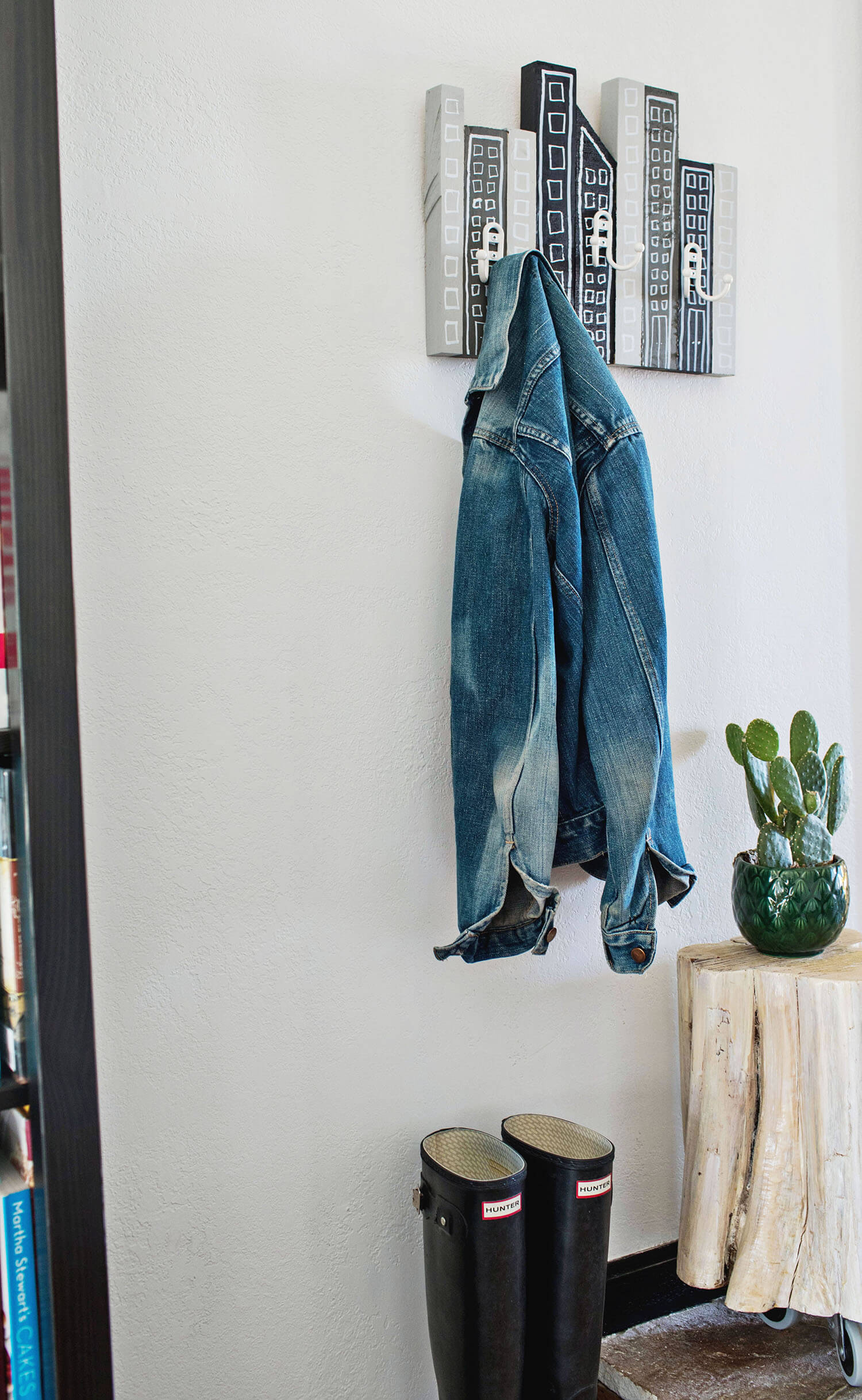 Cityscape Coat Rack DIY