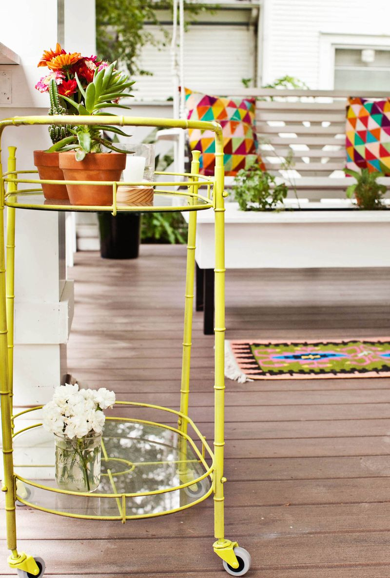 How to style a front porch