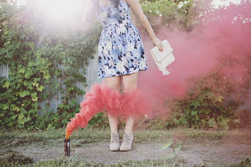 Smoke Bombs and Dresses