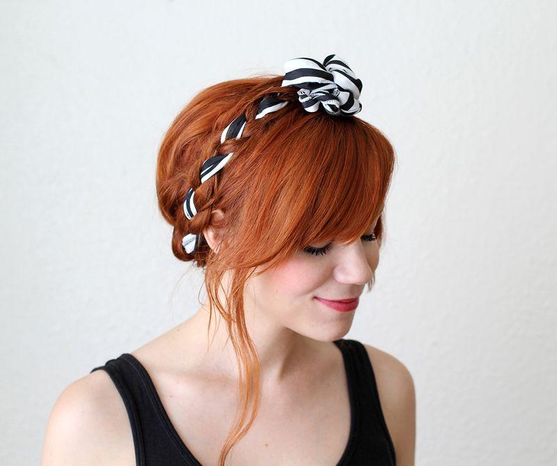 Fabric maiden braids tutorial