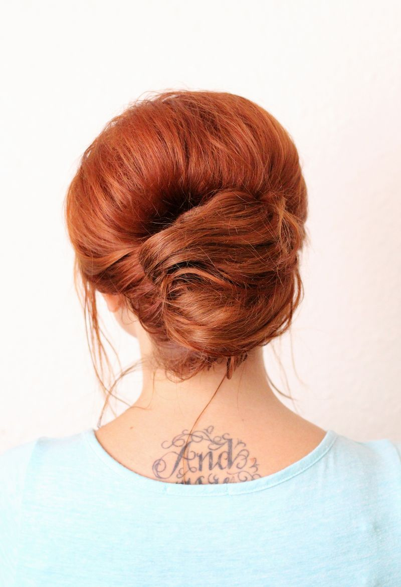 Adorable everyday french twist
