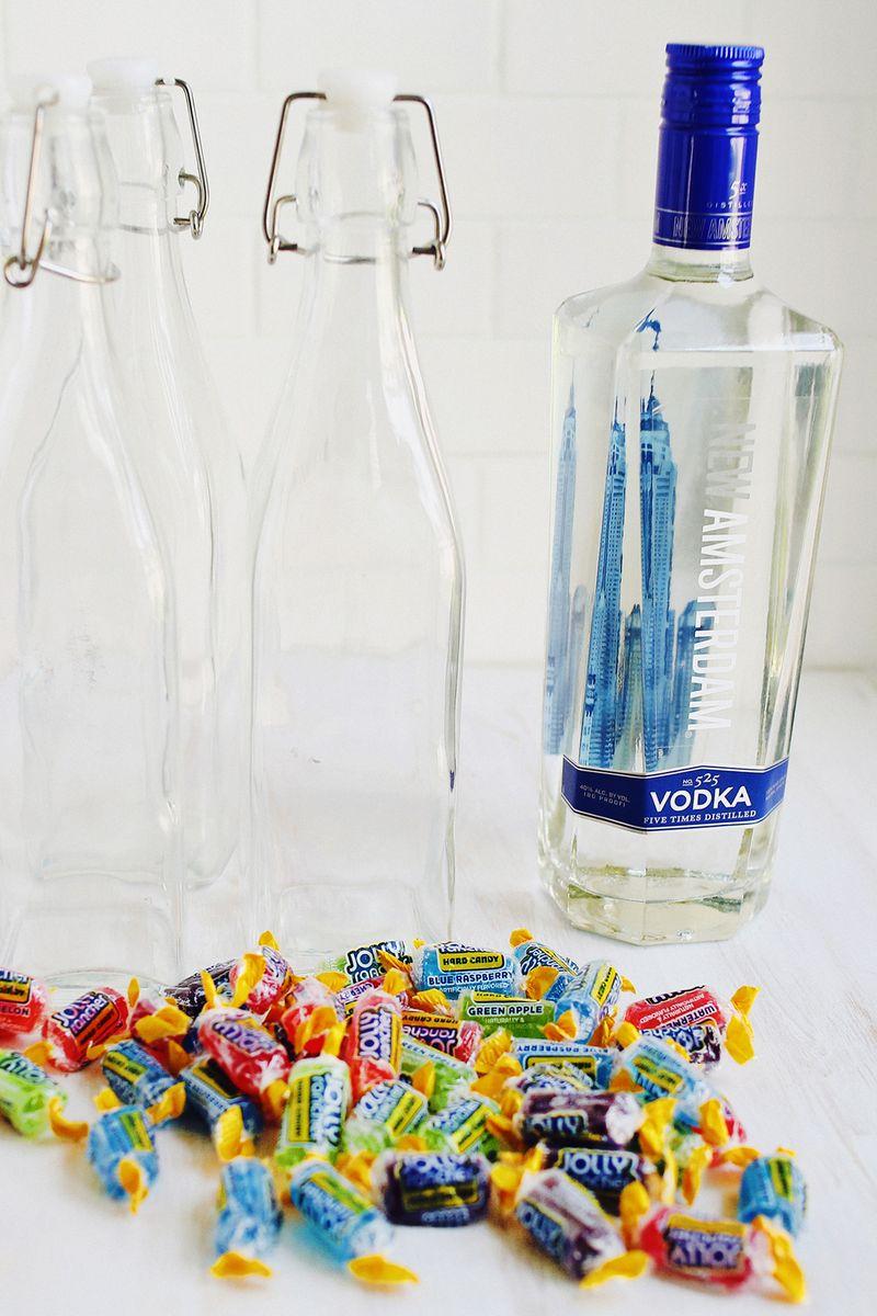 Jolly Rancher Vodka (SO easy and tastes just like Jolly Ranchers!)
