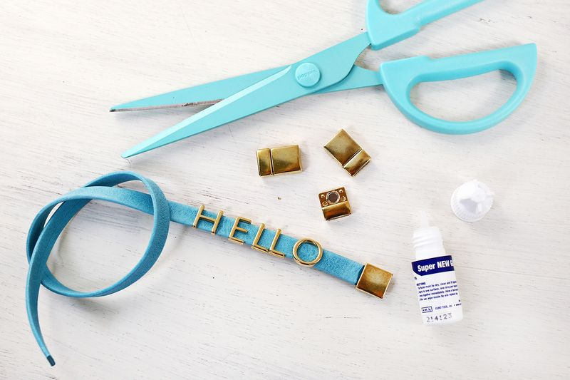 Have to make these! Easy phrase bracelets (click through for tutorial)