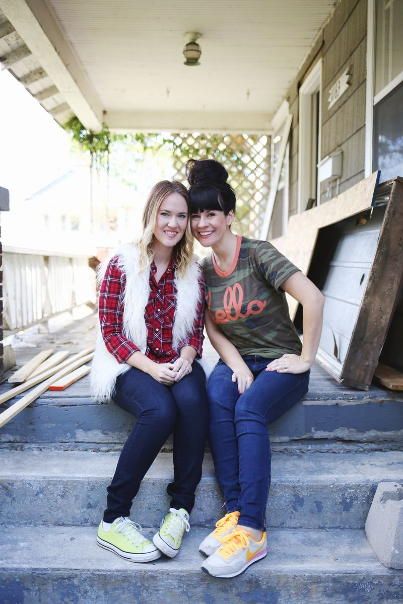 A Beautiful Mess makeovers a house for HFHS