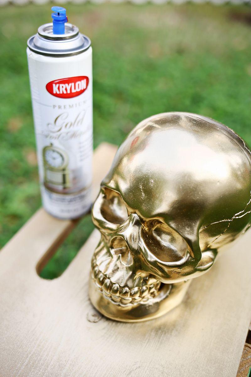 3 ideas for cute Halloween skulls