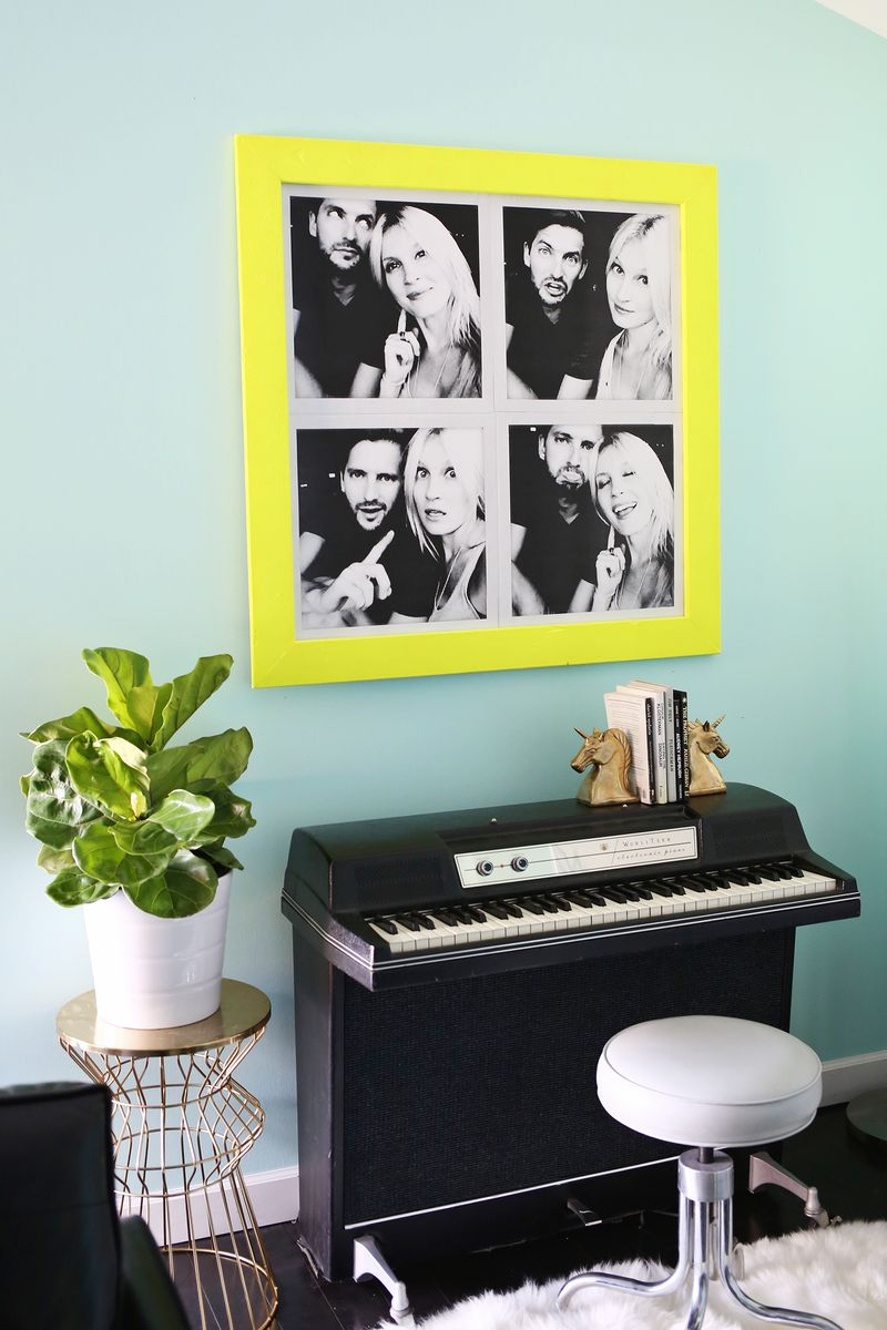 Oversized Photo Booth Prints for under $10! (click through for details)