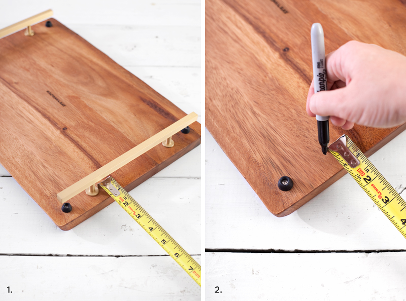 Making your own serving tray couldn't be easier!