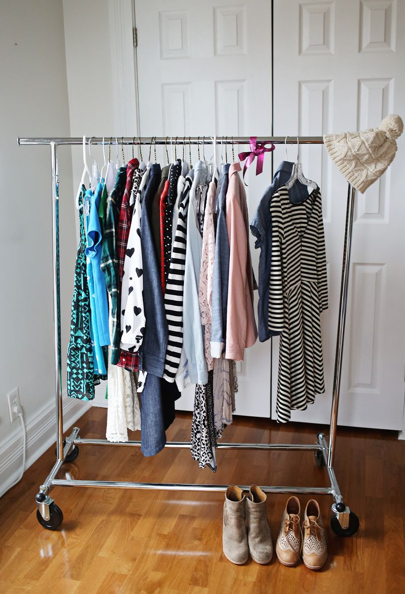 How to organize your closet in 5 min