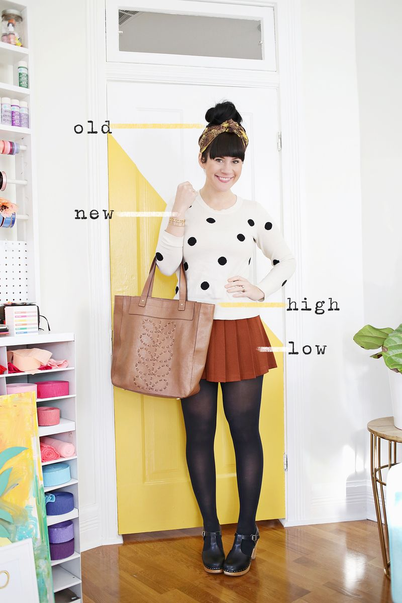 A guide to shopping New, Old, High and Low! www.abeautifulmess.com
