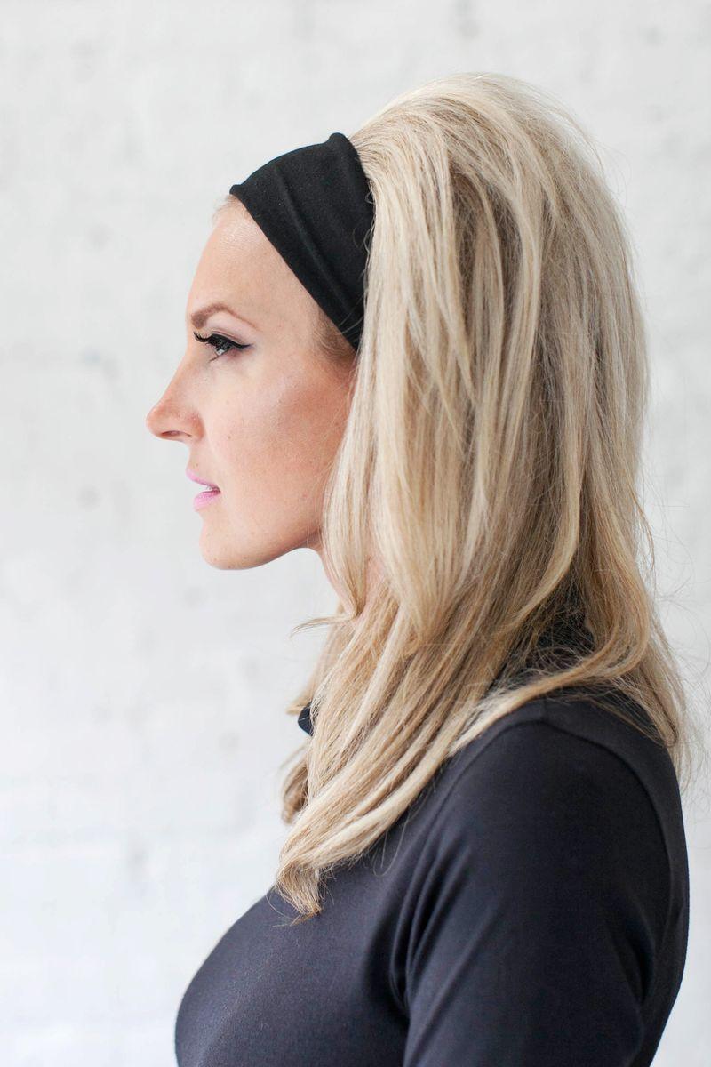 Brigitte Bardot Headband Hair-Yes Please! (click through for tutorial)
