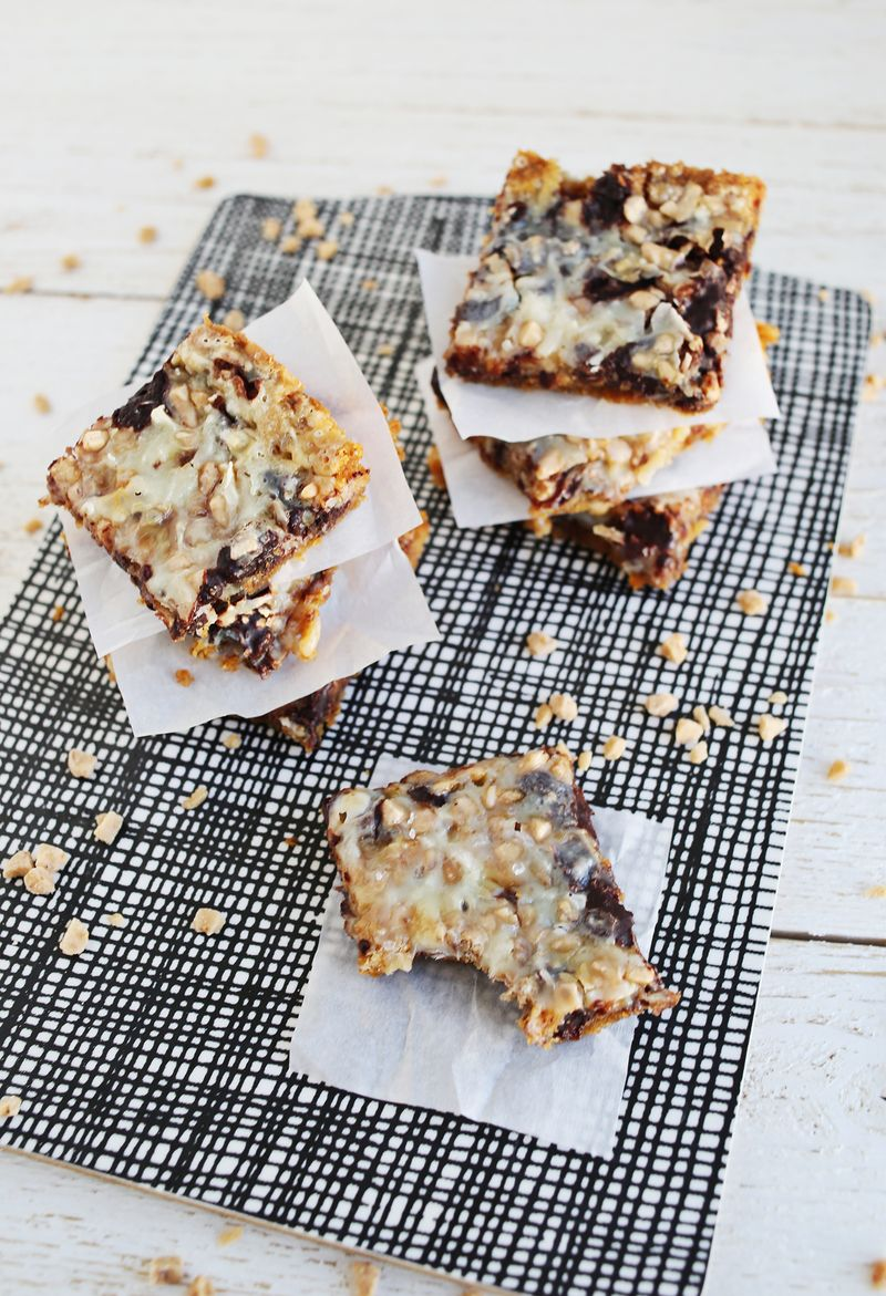 Coconut and Toffee Bars (via abeautifulmess.com)