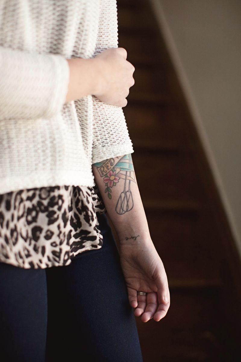 Emma Chapman's tattoos