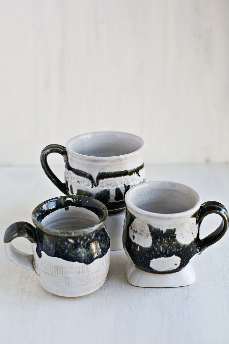 Homemade mugs