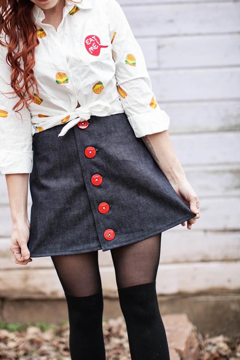 Sew a cute skirt