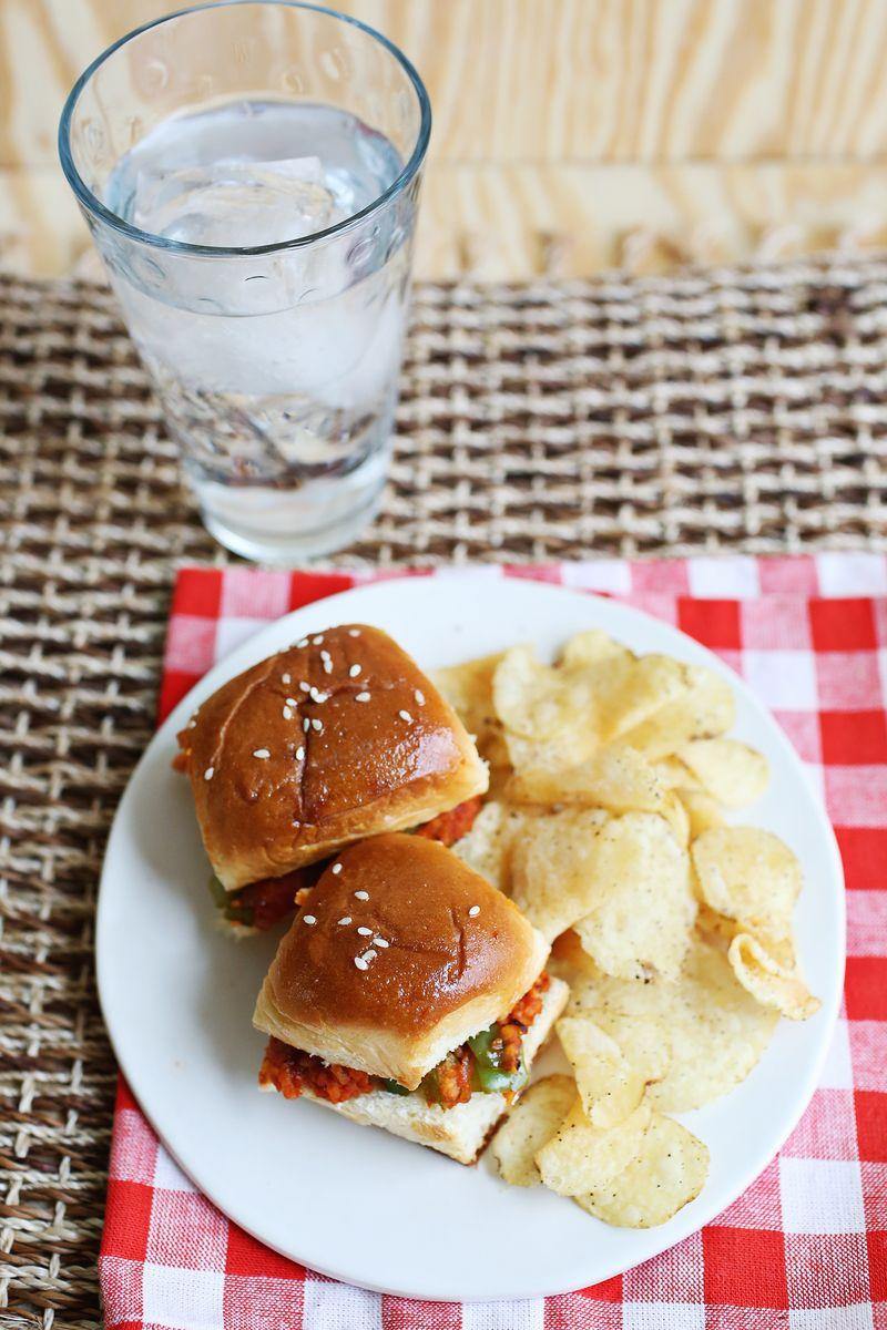 Baked (Vegetarian) Sloppy Joes (via abeautifulmess.com)