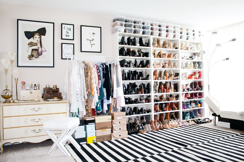 Obsessed with this closet!