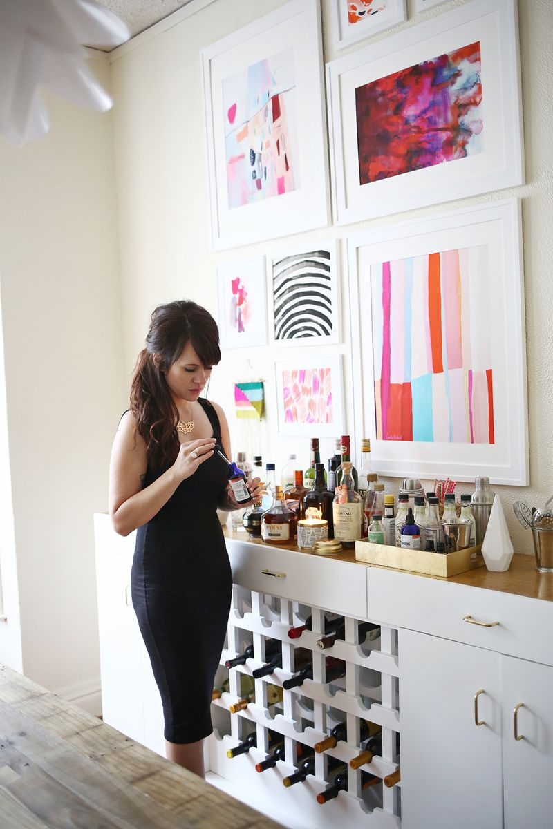 What to keep stocked for quick & easy parties! www.abeautifulmess.com