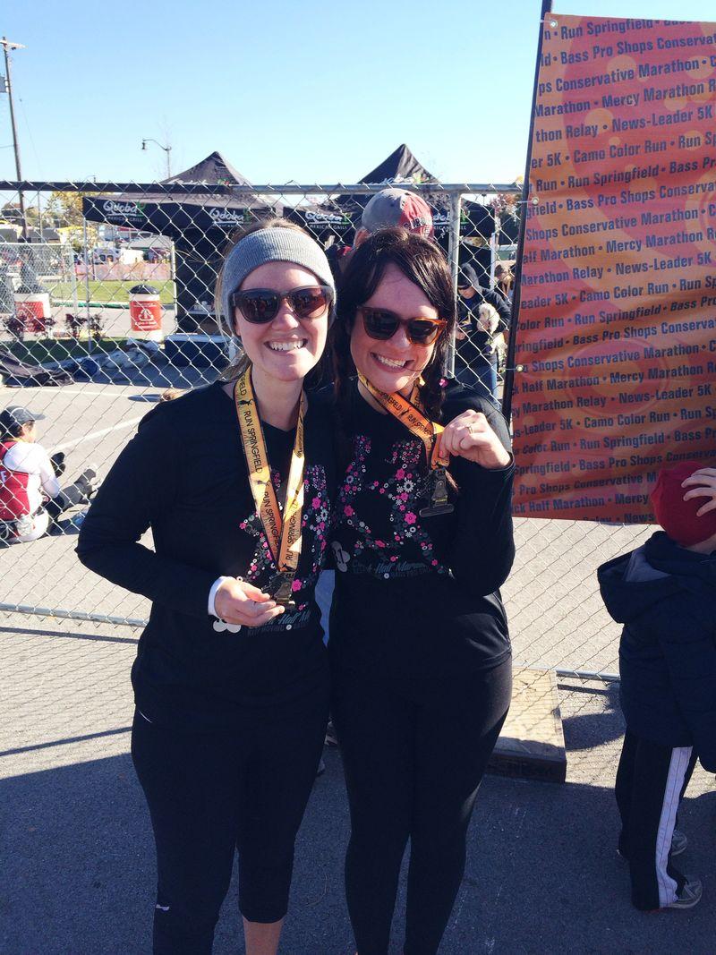 Our half marathon