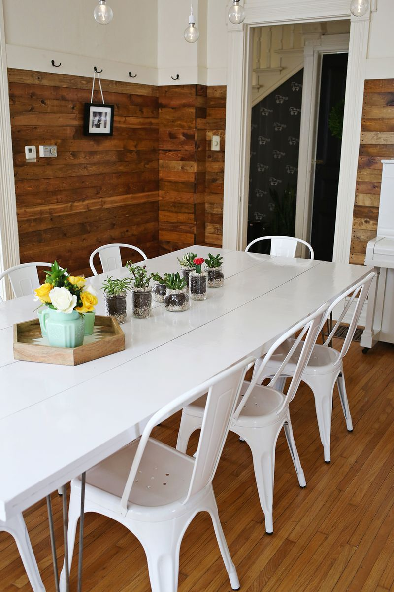 DIY dining room table