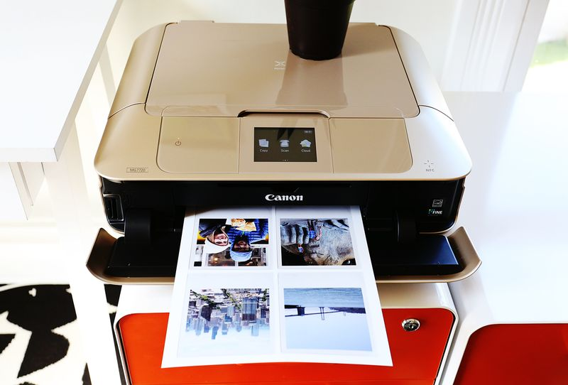 New (gold) printer! (from Canon)