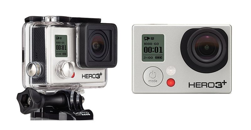 Gopro hero 3 plus black edition with waterproof case