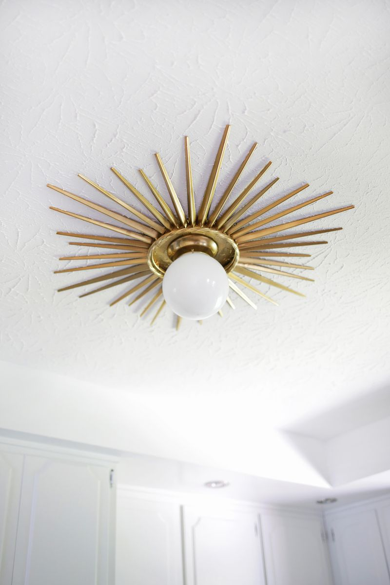 Sunburst Mirror Medallion Diy A