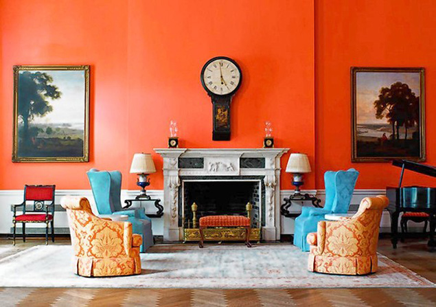 Greenbrier-orange-room