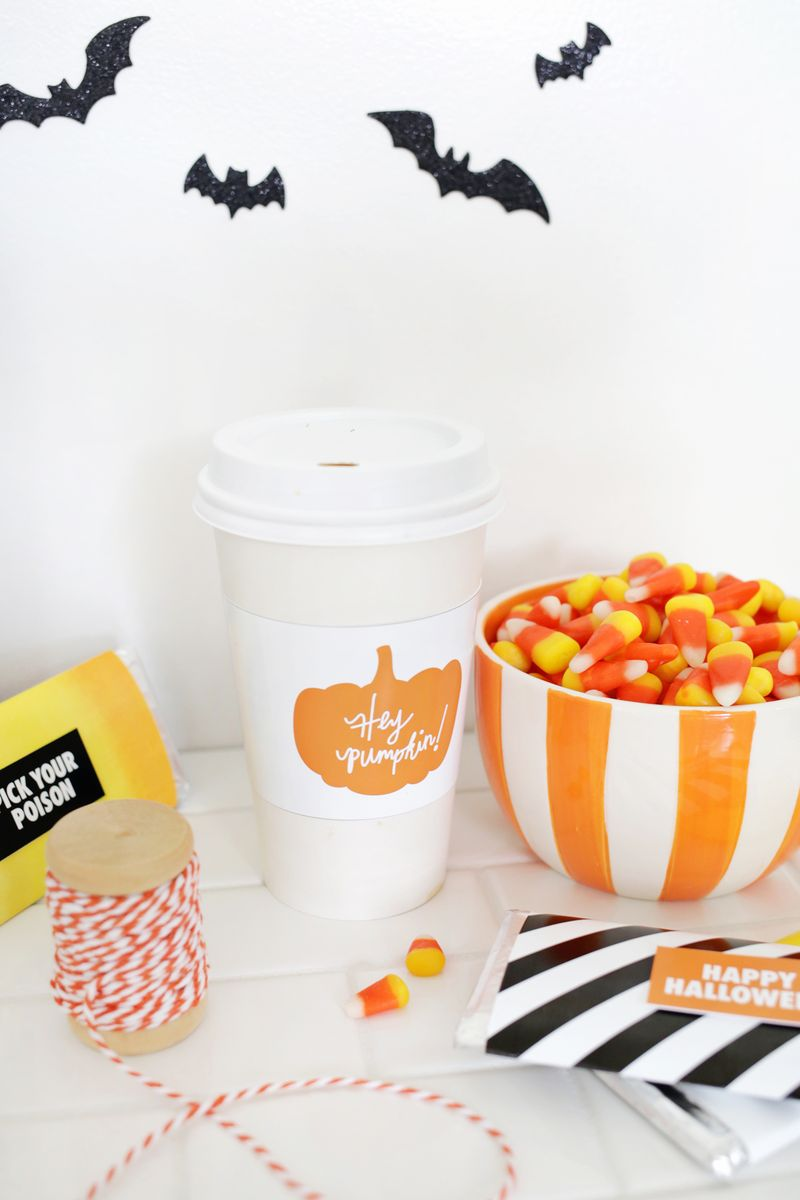 Halloween Gift Printables- too cute! (click through for download)