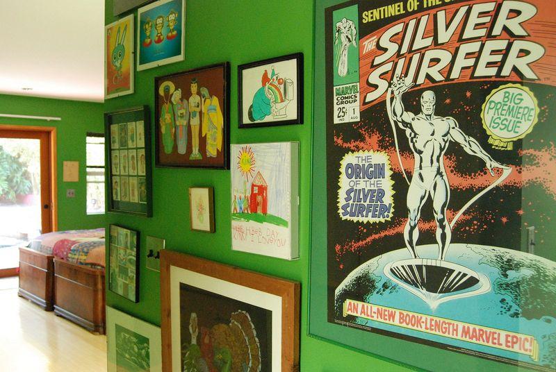 Wall decor via At Home with Kimi Encarnacion