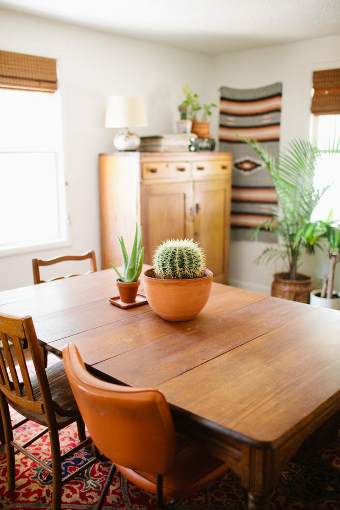 Cactus Dining Table Above: Apartment Therapy