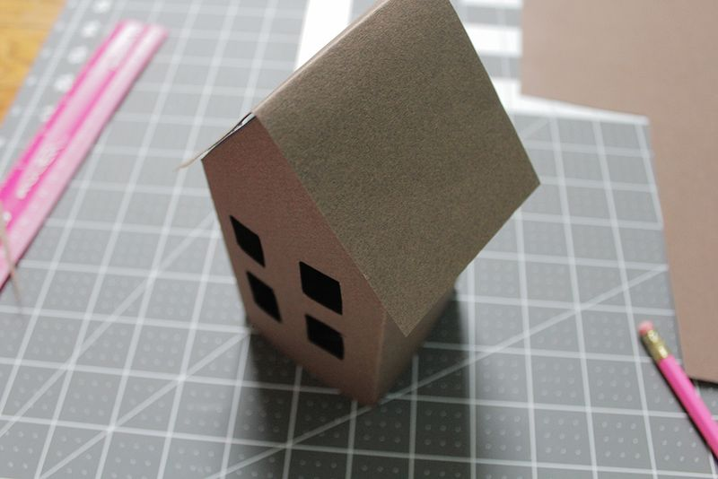 Advent houses step 6