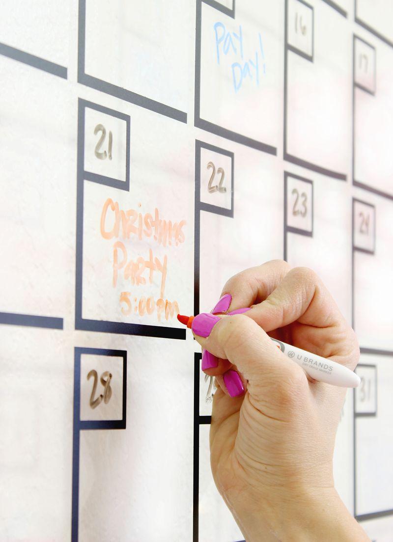 Diy Acrylic Calendar A Beautiful Mess