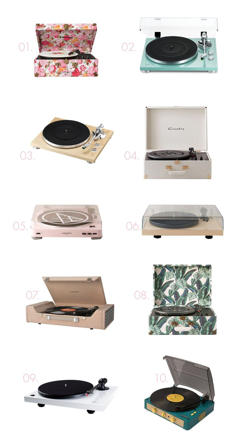 Record player shopping guide