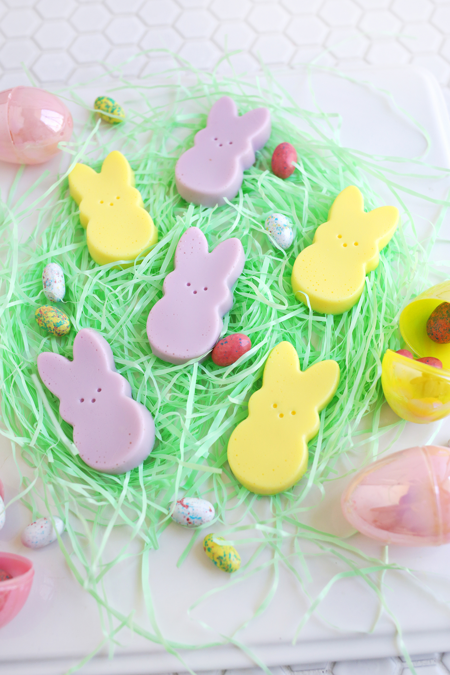 Peeps Jello Shots! (click through for recipe)