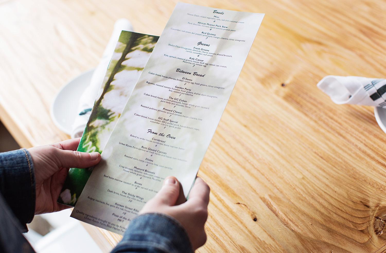 The Golden Girl Rum Club food menu
