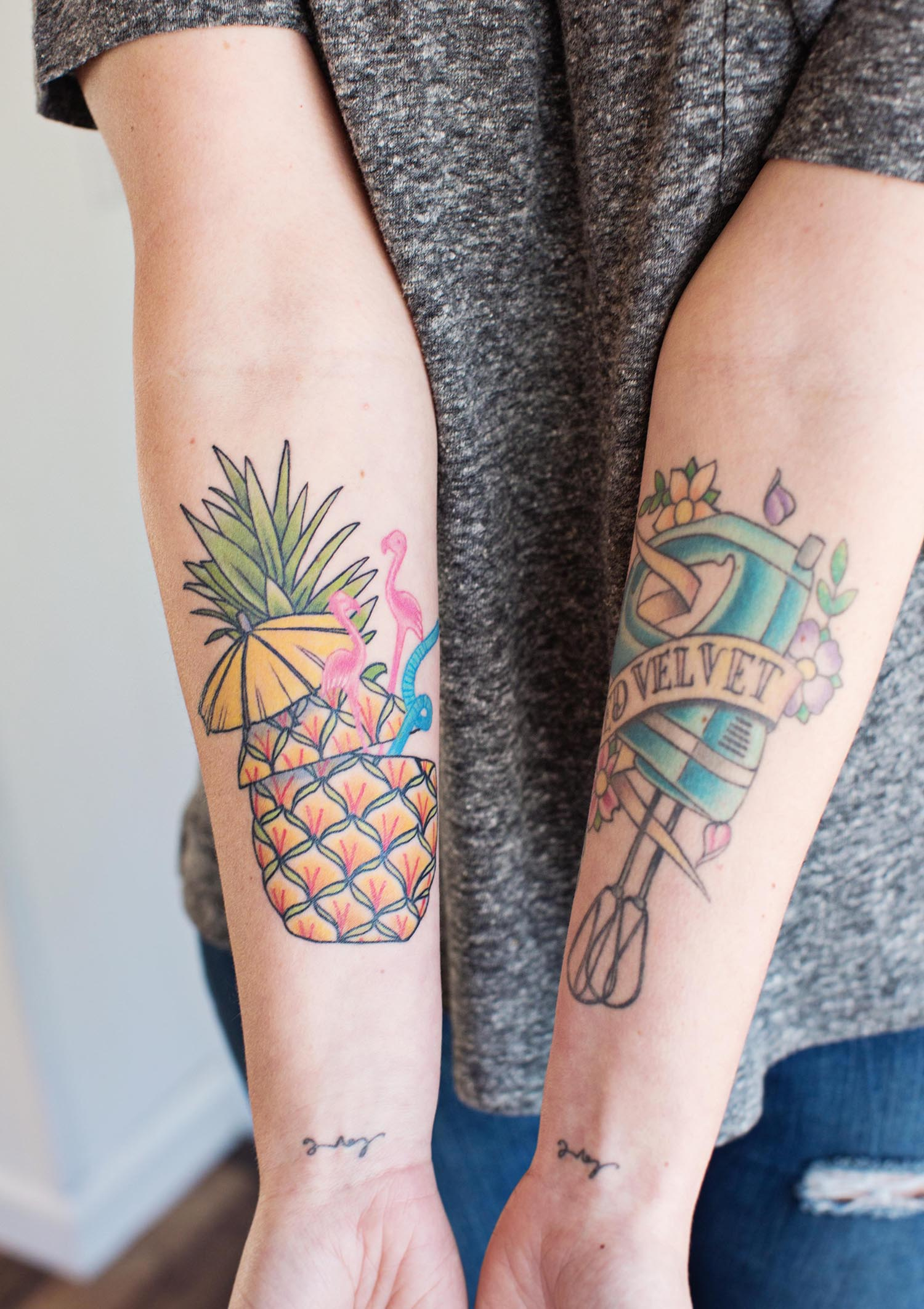 Taking Our Pineapples Out For A Beach Day Tattoo T