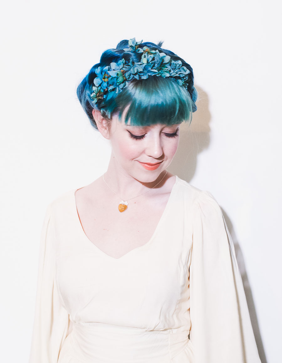 Six Ways To Style Flower Crowns A Beautiful Mess