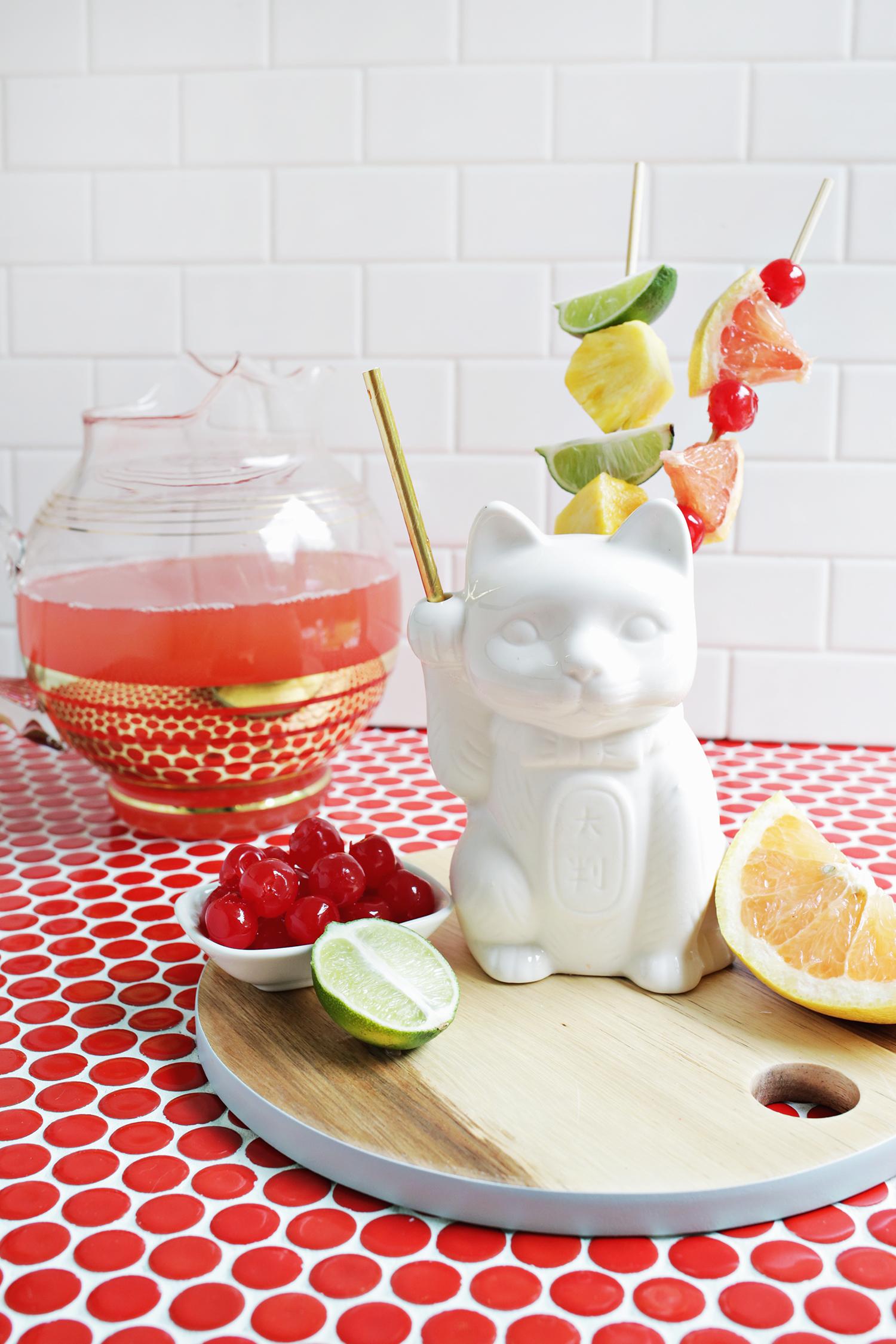 Triple Tiki Rum Punch (click through for recipe)