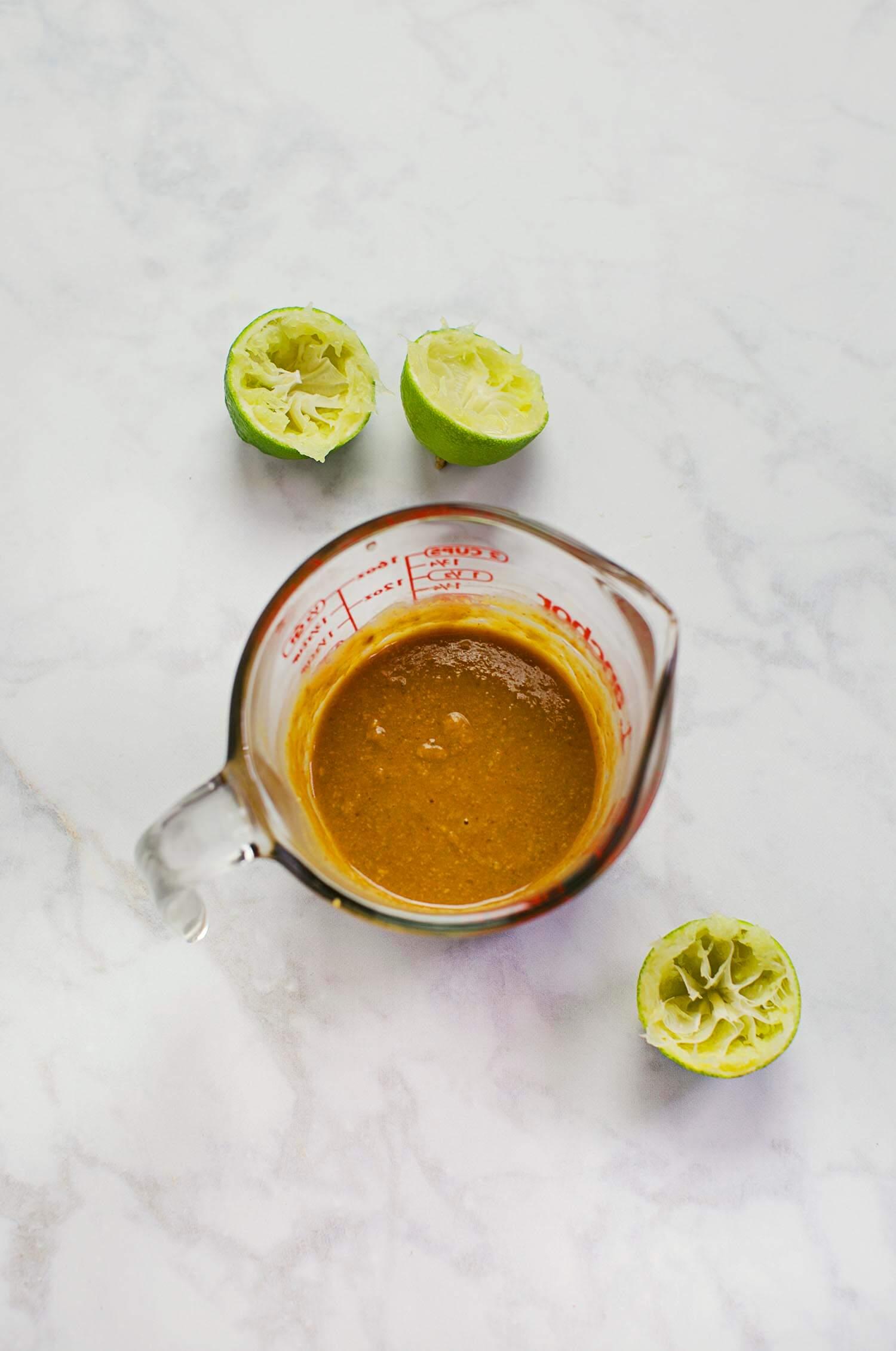 Raw pad thai sauce