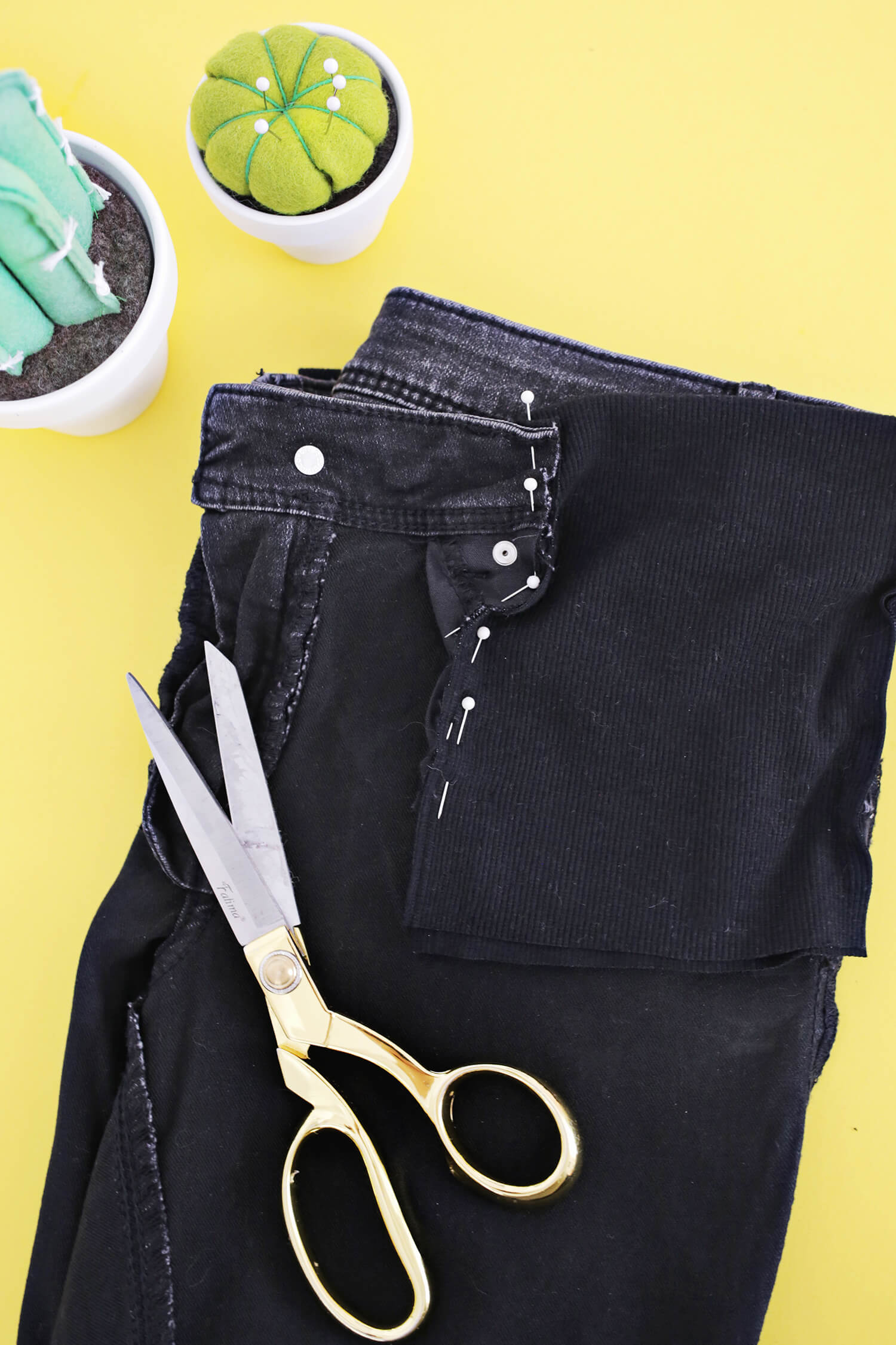 make your own maternity jeans! - a beautiful mess