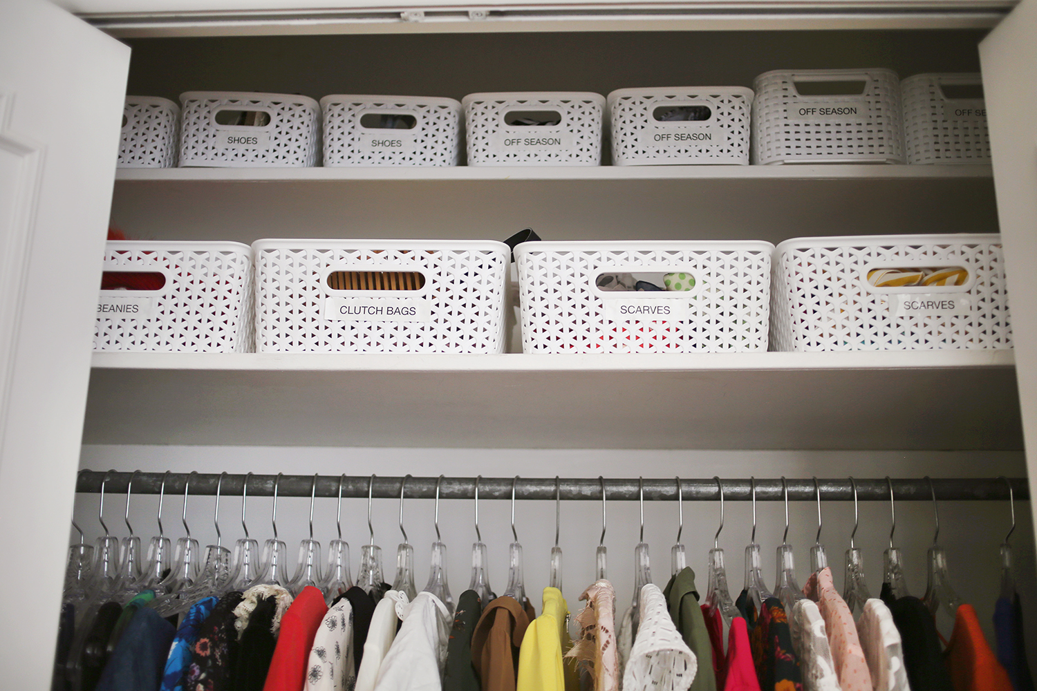5 Tips For Conquering Closet Organization