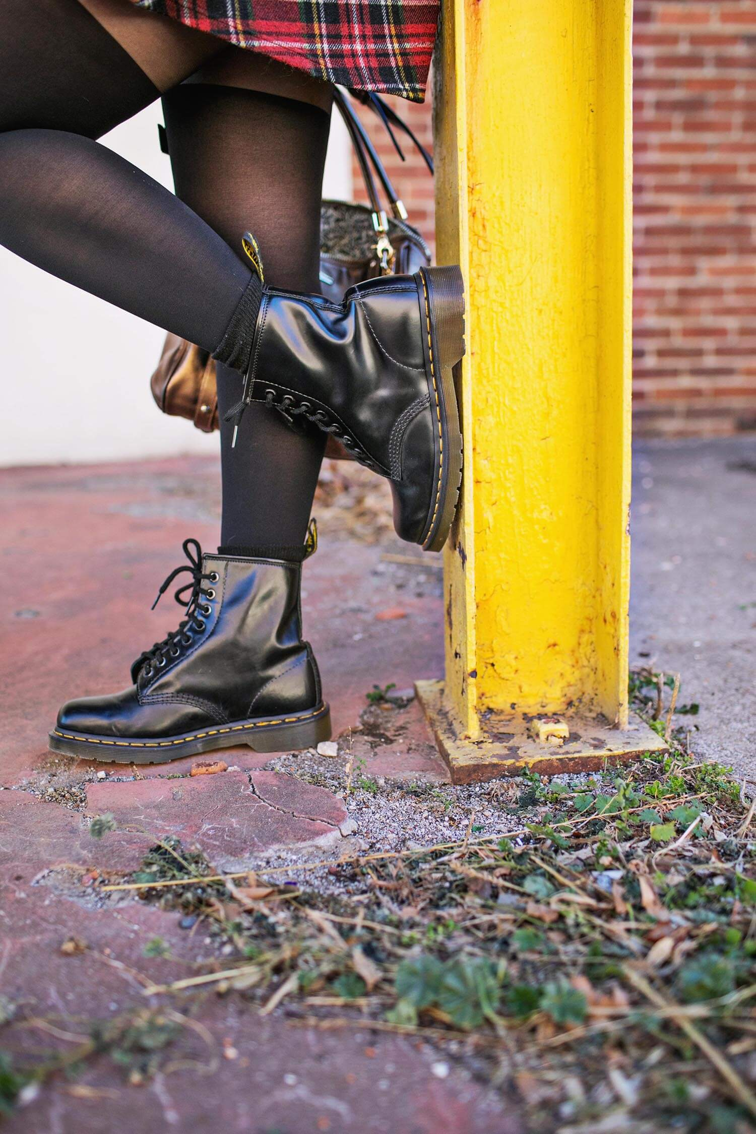 Boots and tights