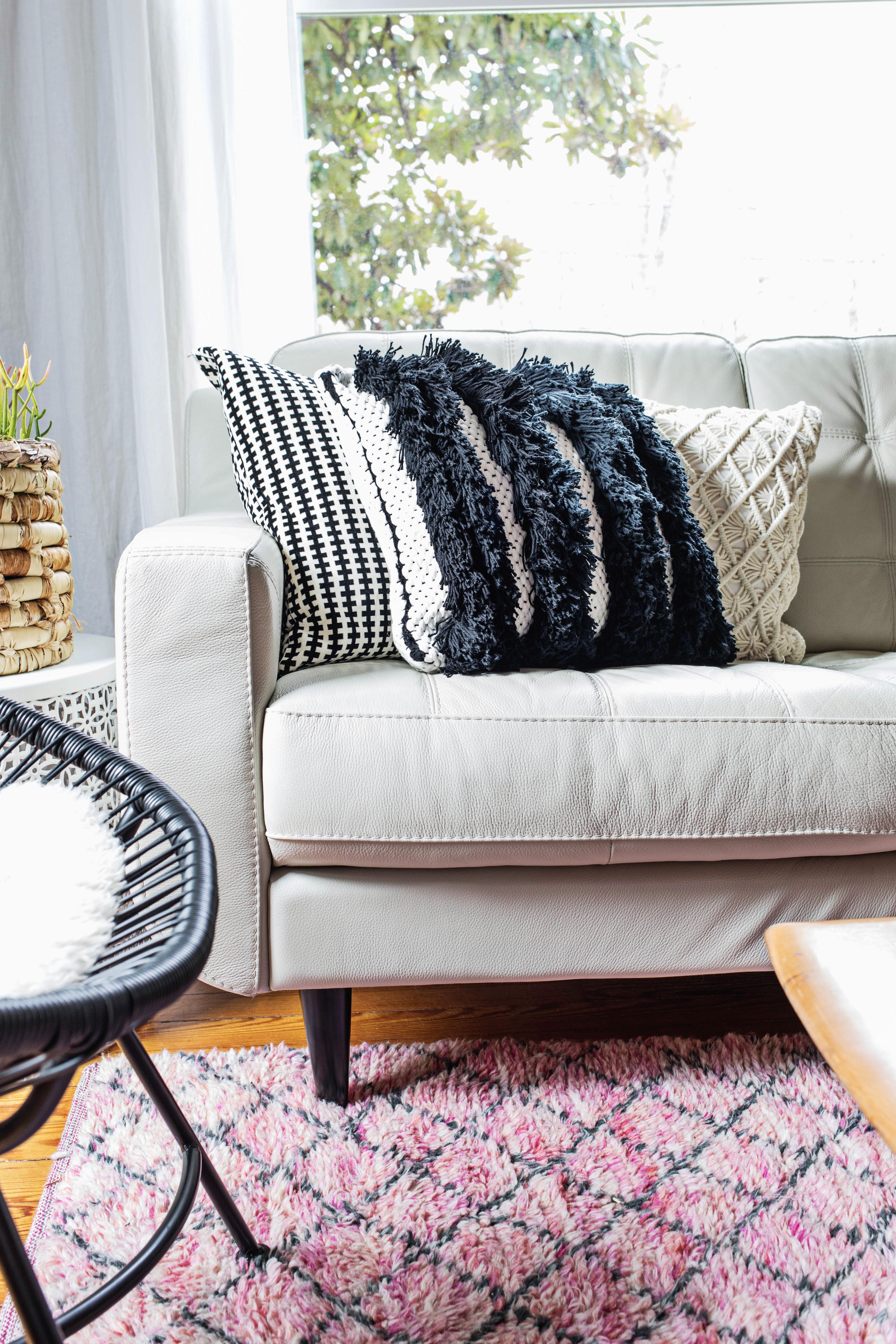 Textured Woven Pillow Diy A Beautiful Mess