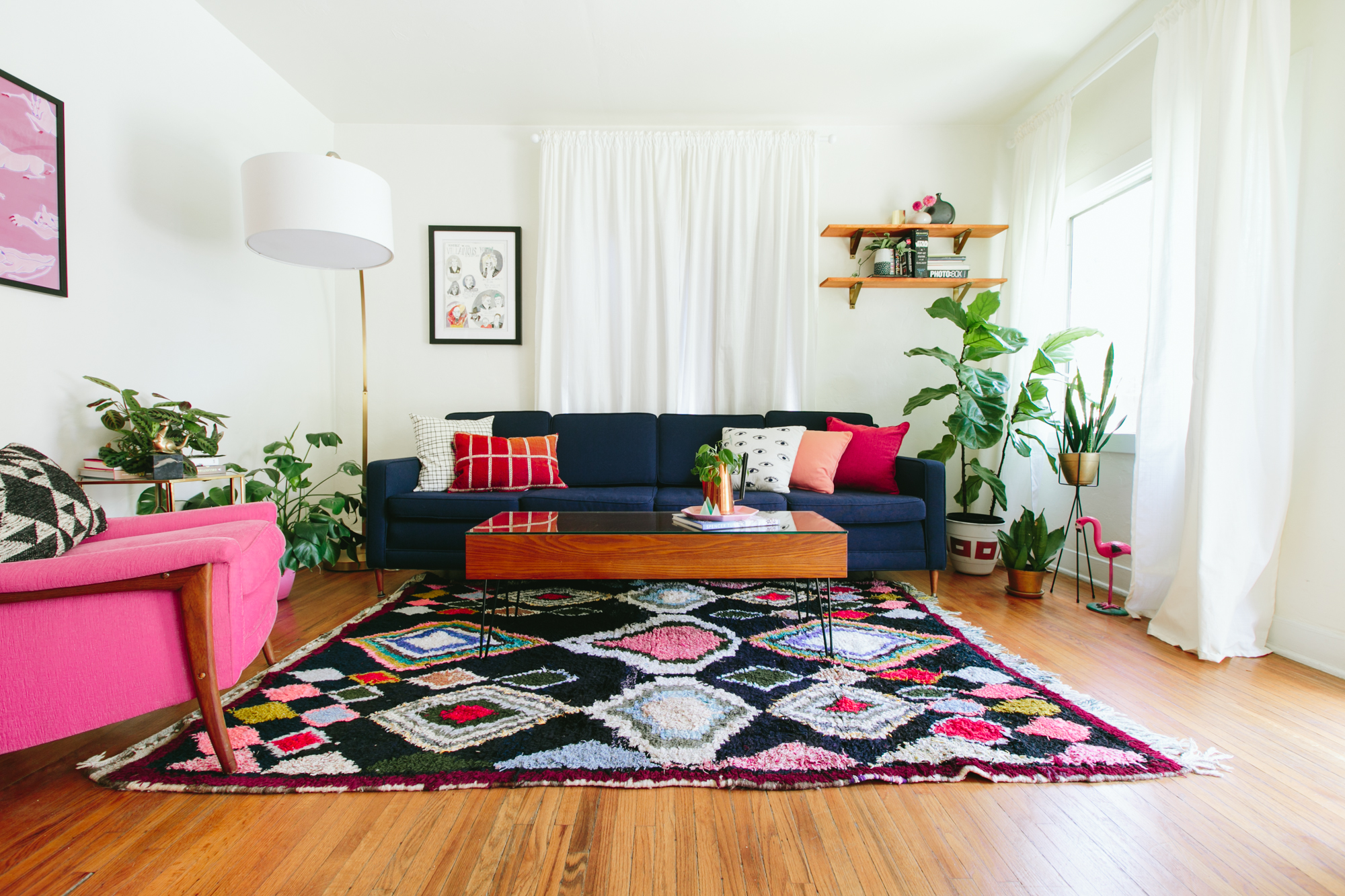 Zu Hause bei Caroline Lee in Los Angeles, Kalifornien