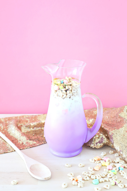Glücksbringer Getreide Milch Punsch