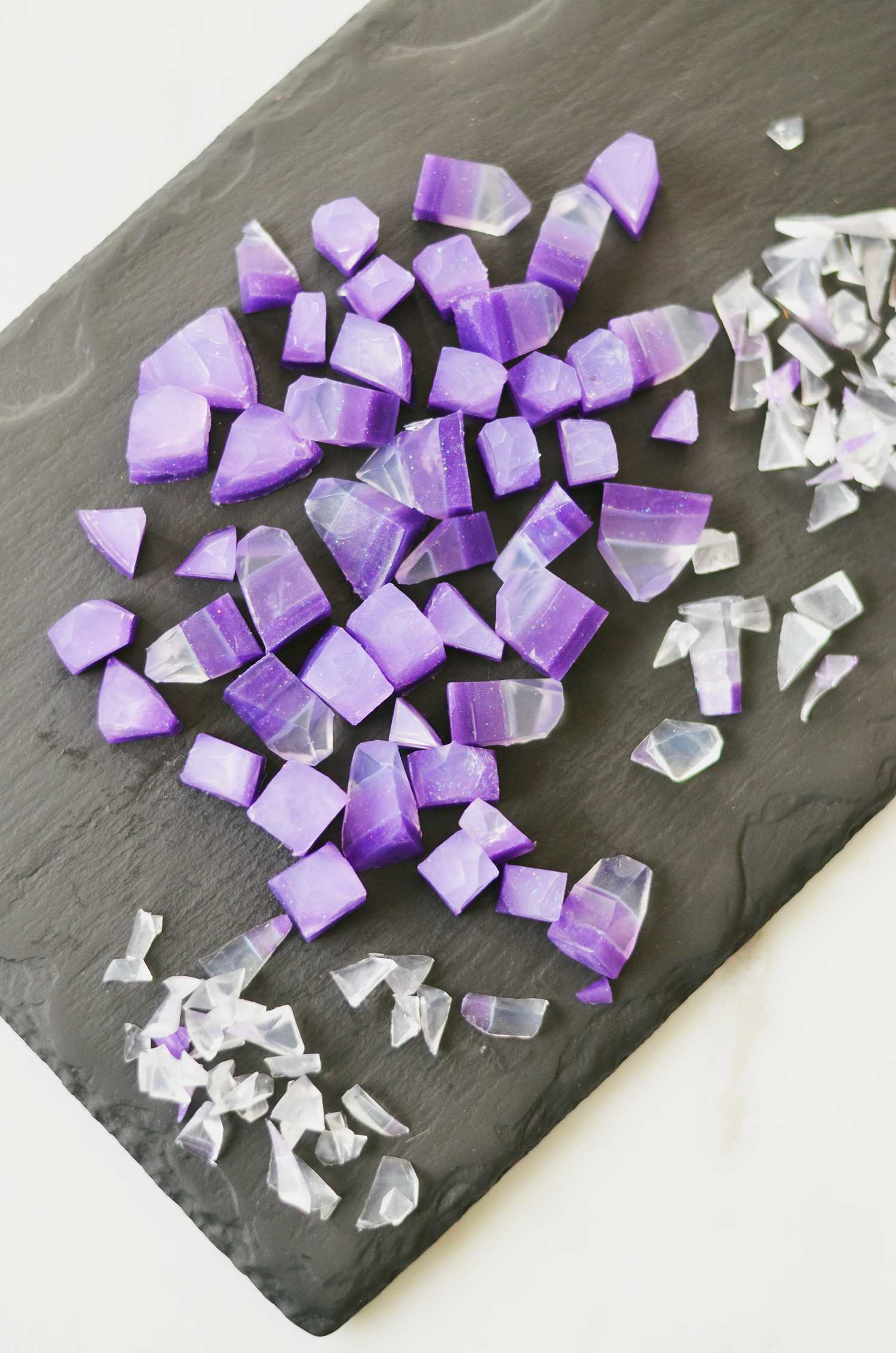 Make Your Own Gemstone Soaps! (click through for tutorial)