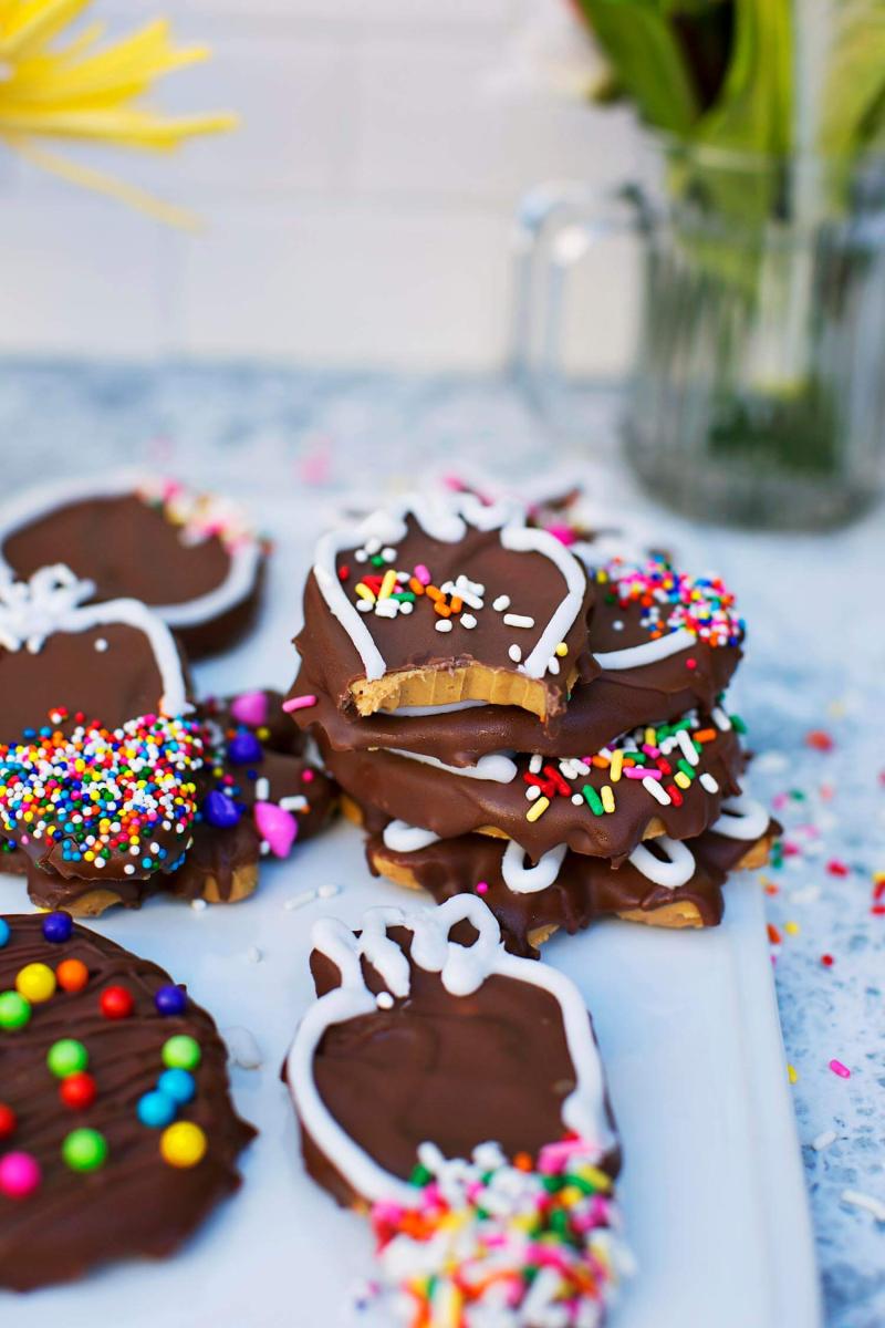 Homemade Peanut Butter Cups (via abeautifulmess.com)
